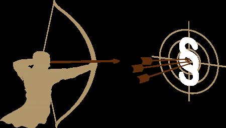 Kanzlei-Burow_LogoBogenschütze